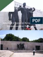Ismertető a Fiumei úti Kerepesi temető Munkásmozgalmi panteonjáról