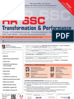 8. Jahresforum HR SSC Transformation & Performance
