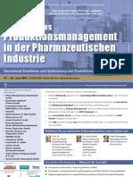 Strategisches Produktionsmanagement in der Pharmazeutischen Industrie