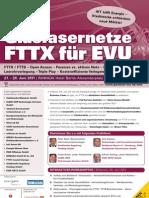 Glasfasernetze FTTX für EVU
