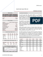 South India Paper Mills Ltd