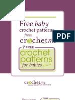 Crochet Me 7 Baby Patterns