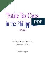 Estate Tax Cases