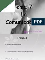 Tema 7 La comunicación-Cristina Gómez
