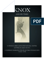 Knox Conference 2011