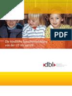 Kindliche Sprachentwicklung u3 u9