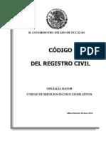 Codigo Registro Civil