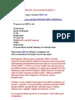 Naprawy Uwalonego Gdfs-A