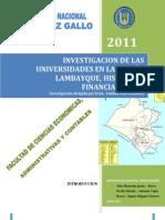 Universidades Lambayeque