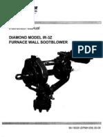 31. Instruction Manual Diamond Model IR-3Z Furnace Wall Soot Blower