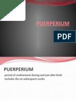 Q. Puerperium