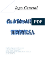 Catalogo General TUBONOR