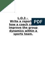 L.O.4 - Group Dynamics