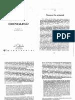 Orientalismo (Edward Said)