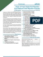 uP6161 DataSheet