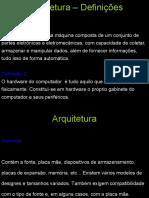 Arquitetura de PC - Aula 02