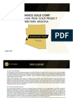 Choice Gold Corporate Presentation