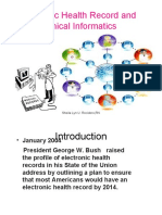 Lesson 5 - Electronic Health Record and Clinical Informatics.ppt Student Copy