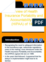 Lesson 7 - Overview of HIPAA