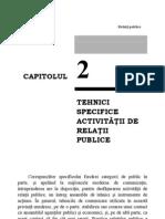 29671708 Tehnici Specifice Operatiunilor de Relatii Publice