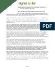 Signet Solar Global Press Release Mar 17 08