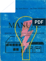 Manual Pentru Autorizarea Electricienilor Instalatori - Ed. 1995
