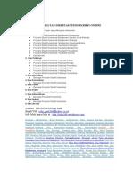 Konsultan Disertasi Tesis Skripsi Online