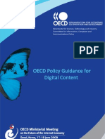 OECD Policy Guidance for Digital Content 2008