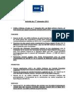 Communiqué de presse - ICADE - Activité 1er trimestre 2011