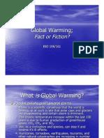 BIO 161 - Lecture 22 - Global Warming