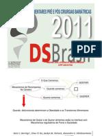 Transtornos Alimentares Pré e Pós Cirurgias Bariátricas DS em 2011Ctba