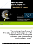 Innovative experiences of Open Educational Resources towards academic knowledge mobilization