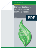 Biomass Cookstoves Technical Meeting