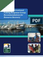 Gulf Spill Recreational Fishing Response Group Report