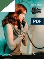 Sony Hdw-650p Prelim