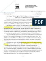 NIH HPTN 052 Press Release