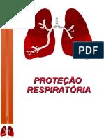 PROTEÇÃO  RESPIRATÓRIA  -  apresentação PowerPoint