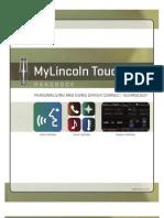MyLincoln Touch Handbook
