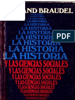 53379358 Braudel Fernand La Historia y Las Ciencias Sociales