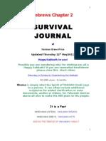 Survival Journal Hebrews 2 12.5