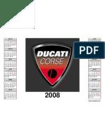 calendar ducati 2