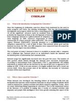 Http Www.cyberlaws.net Cyber India Cybfaq