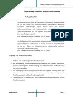 Handout Zum Thema Reifegradmodelle Im Projektmanagement