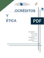 Microcreditos y etica