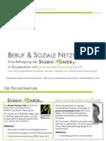 """Studie """"Beruf & Soziale Netzwerke"""" (Basisauswertung)"""