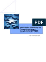 Measurement Maturity Process Improvement Using DataDrill EXPRESS