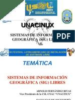 Sistemas de Información Geográfica SIG VII Flisol