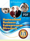 2011 Homeschool Business & Entrepreneur Directory