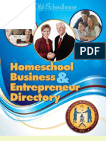 2011 Homeschool Business & Entrepreneur Directory