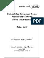U58065 Module Guide